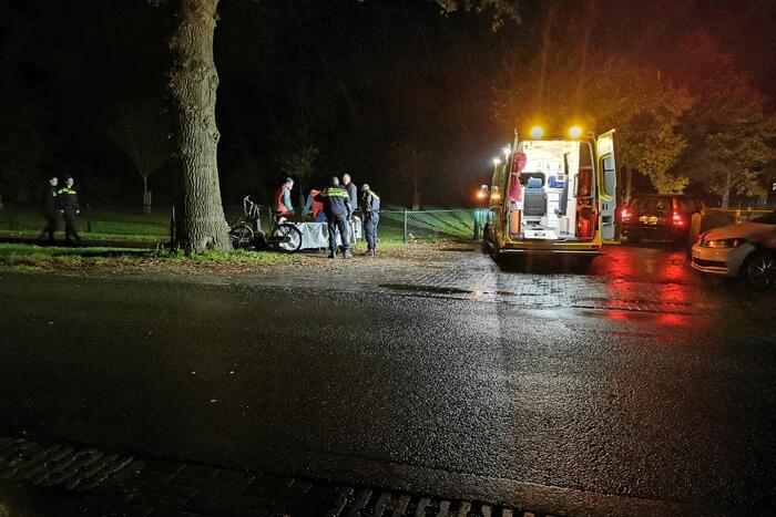 Scooterrijder gewond na valpartij