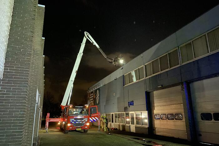 Flinke brand in industriegebouw