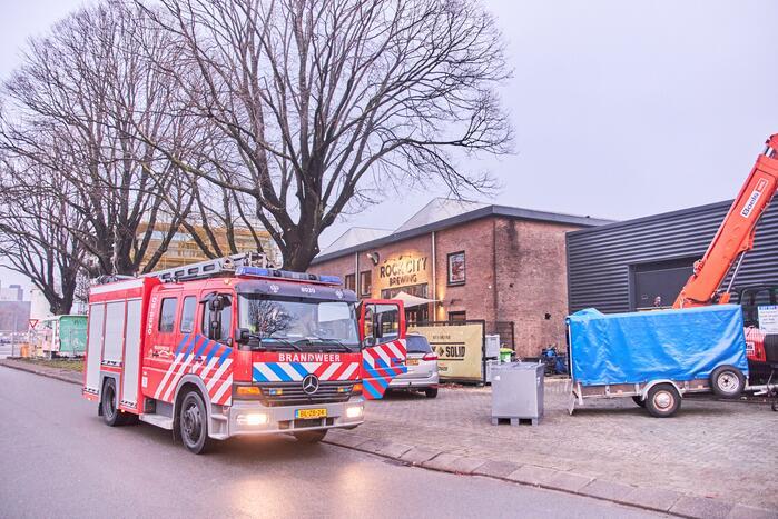 Brand in pakjeshuis van Sinterklaas