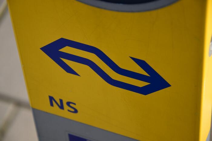 Gestrande trein door defecte bovenleiding