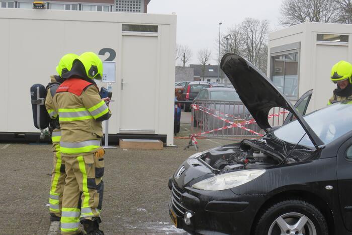 Autobrand blijkt pechgeval
