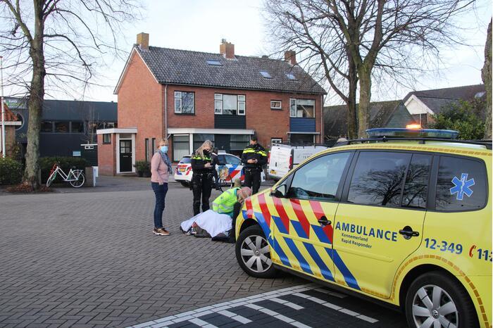 Voetganger gewond bij aanrijding met auto