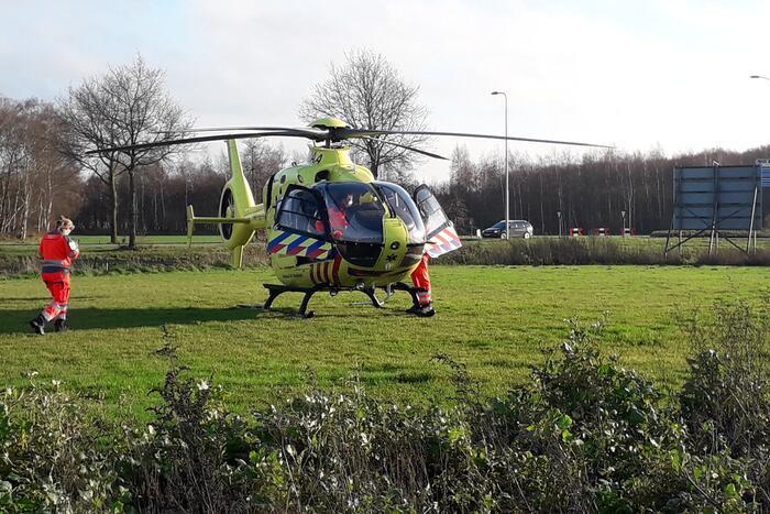 Traumahelikopter ingezet bij incident in woning