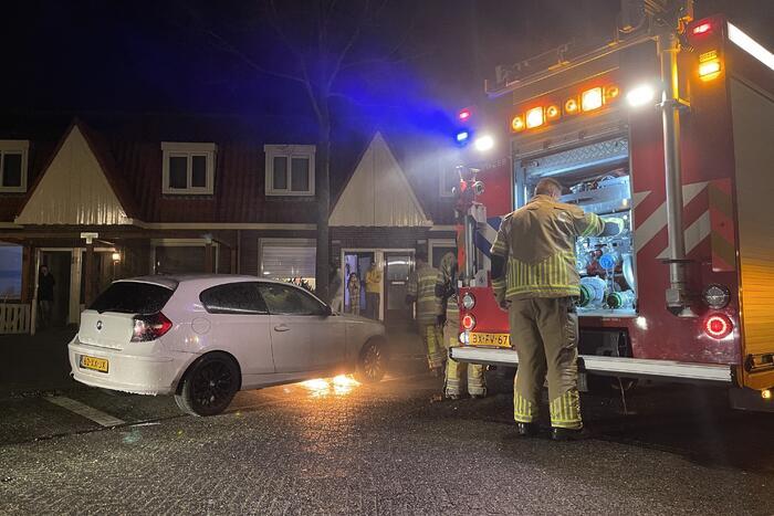 Auto loopt schade op door brand