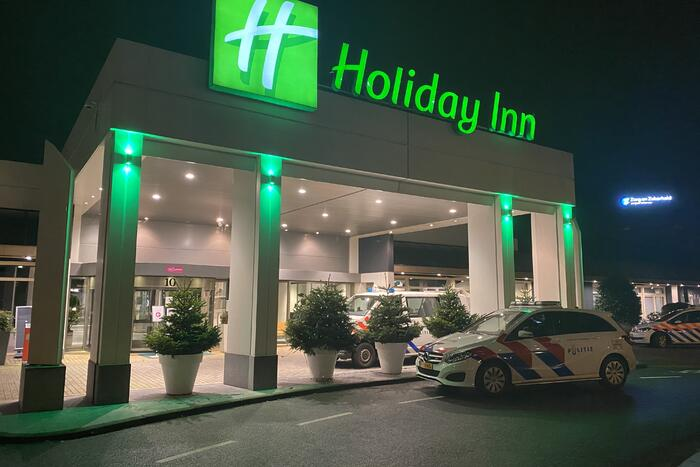 Incident in hotel Holiday Inn