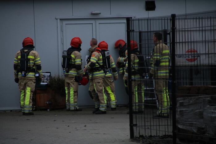 Brand bij Agarisch bedrijf