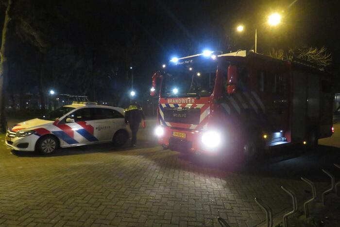 Brand geblust bij Sporthal Westroijen