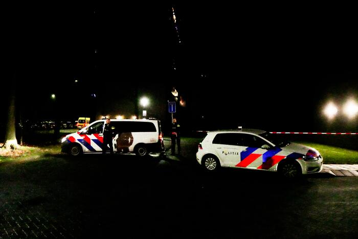 Overval op woning in appartementencomplex