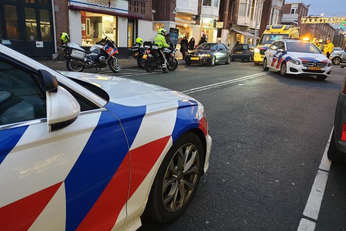 Scooterrijder gewond bij aanrijding met auto