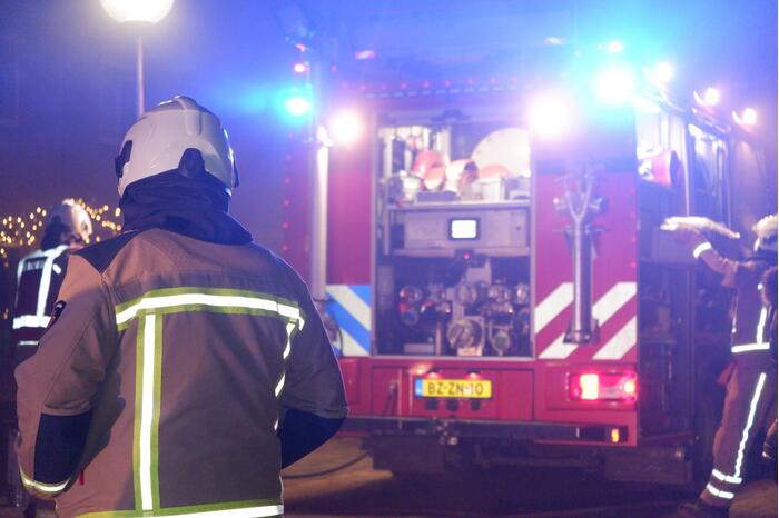 Bus verwoest door brand