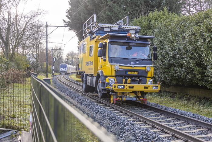 Geen treinverkeer door kapotte bovenleiding