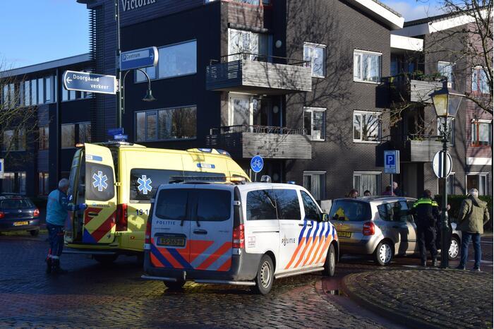 Fietsster gewond bij verkeersongeval