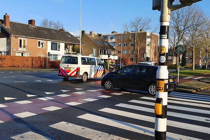 Fietser gewond bij aanrijding met personenauto