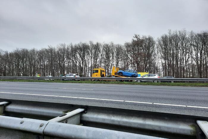 Persoon gewond bij ongeval op snelweg