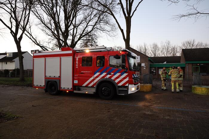 Rook van CV-ketel aangezien voor brand