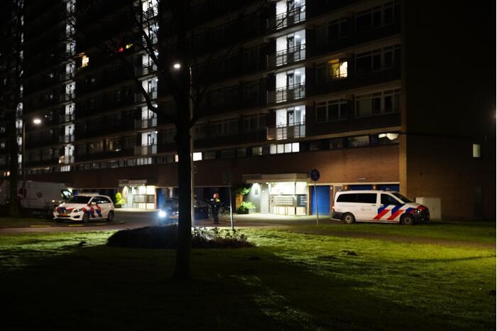 Grote politiemacht op de been na melding schietpartij