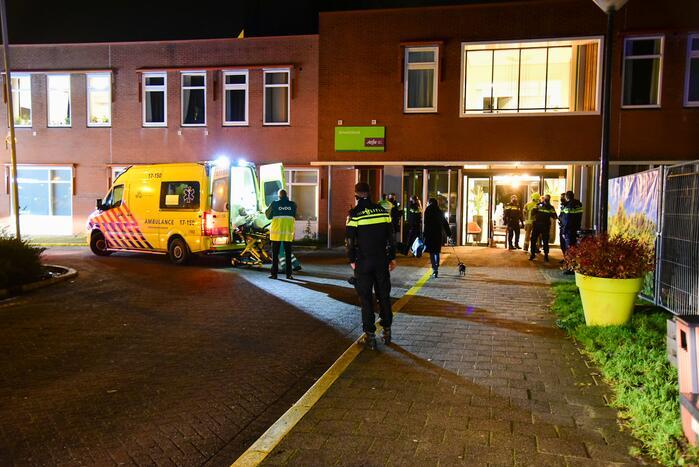 Zeer grote brand in Aafje verpleeghuis