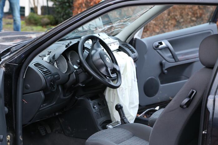 Tien voertuigen betrokken bij ongeval