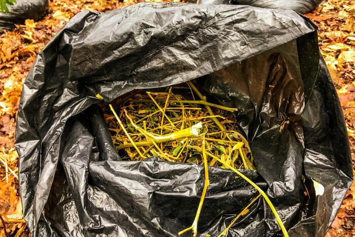 Dumping afval aangetroffen