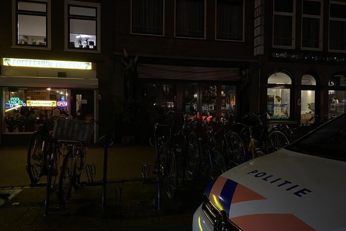 Overval op Coffeeshop Paradise
