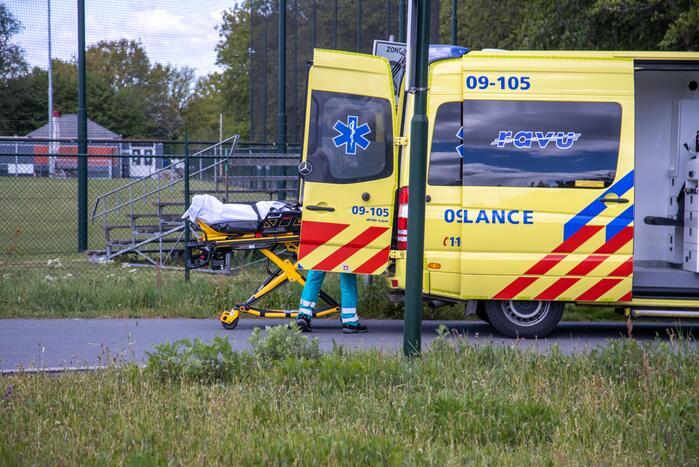 Automobilist rijdt door na ongeval