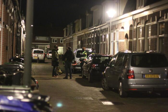 Recherche doet onderzoek naar incident in woning