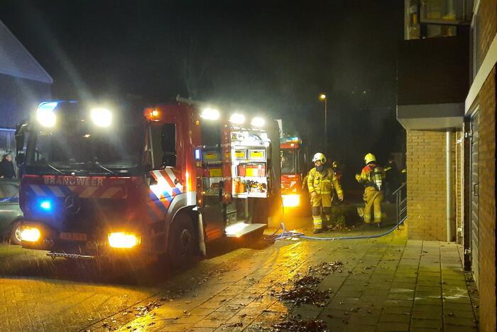 Brand in keuken veroorzaakt veel rook