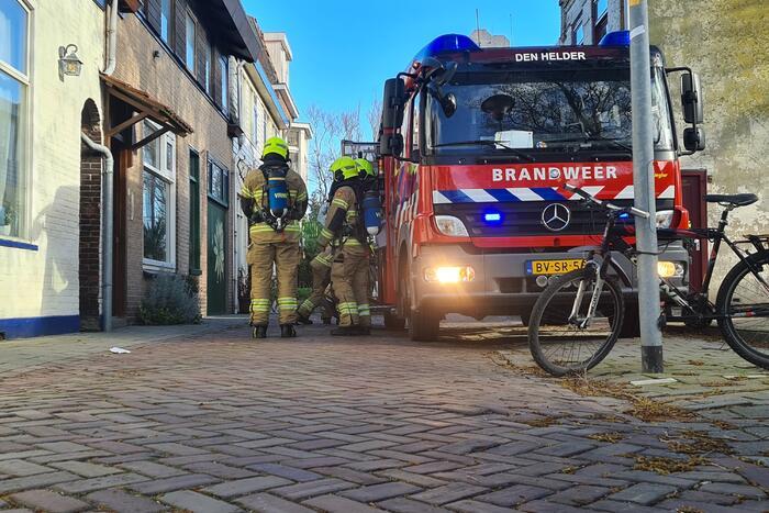 Schoorsteenbrand in Van Galenbuurt buurt snel gedoofd