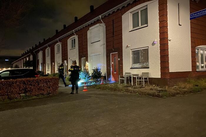 Politie onderzoekt schietpartij op woning