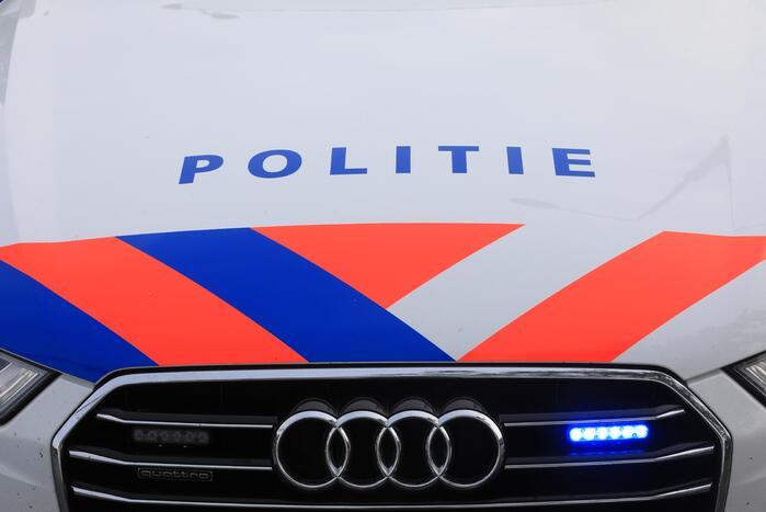Graffitispuiters aangehouden door de politie