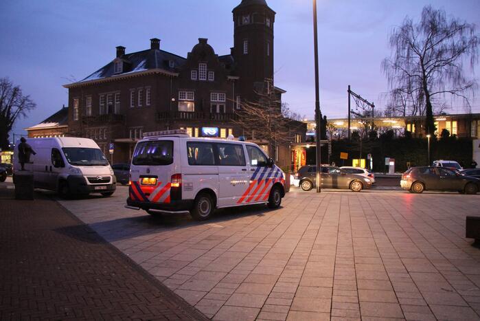 Politie controleert personen in binnenstad