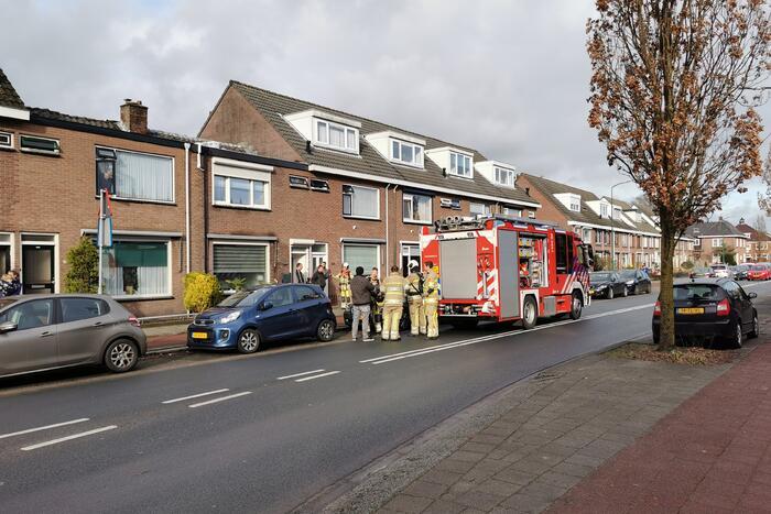 Brandweer doet onderzoek naar brand