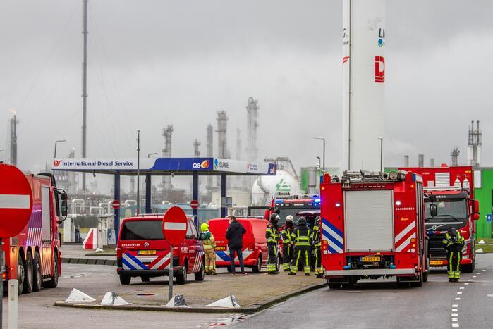 Grote LNG-lekkage bij Q8-tankstation