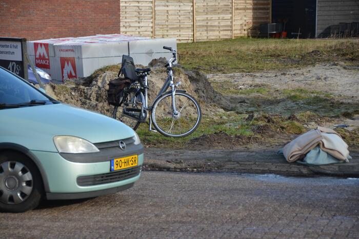 Ongeval tussen personenauto en fietser