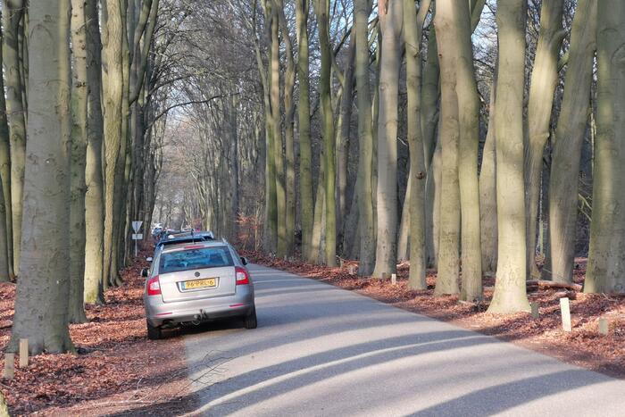 Parkeerplaatsen natuurgebieden vol