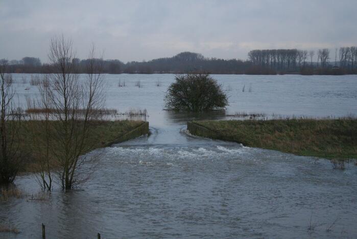 Rijkswaterstaat maakt zich klaar voor hoogwater