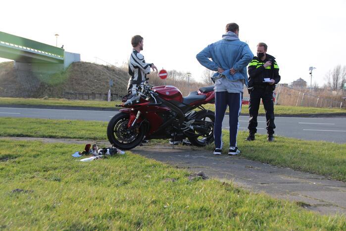 Flinke schade bij ongeval met motor