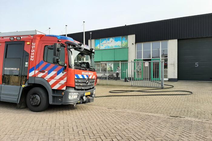 Brand in unit bedrijfsverzamelgebouw