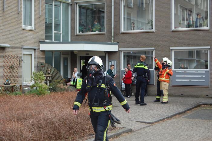 Woonzorg Peelerhof ontruimd door brand