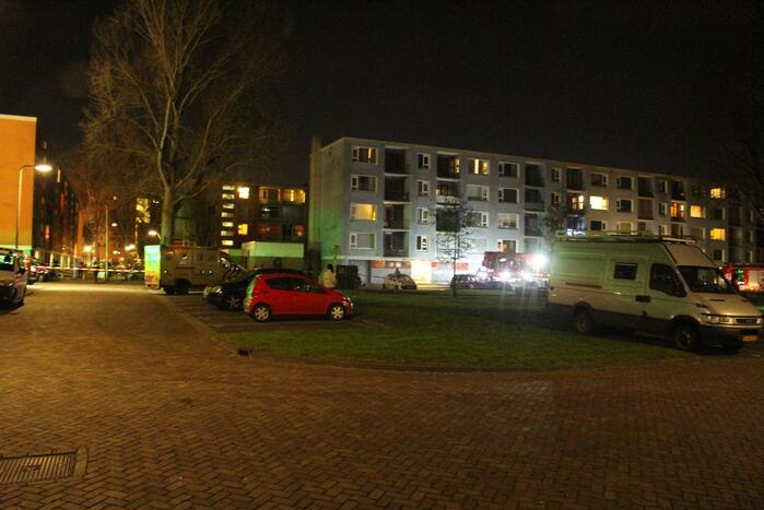 Ontploffing in flatwoning