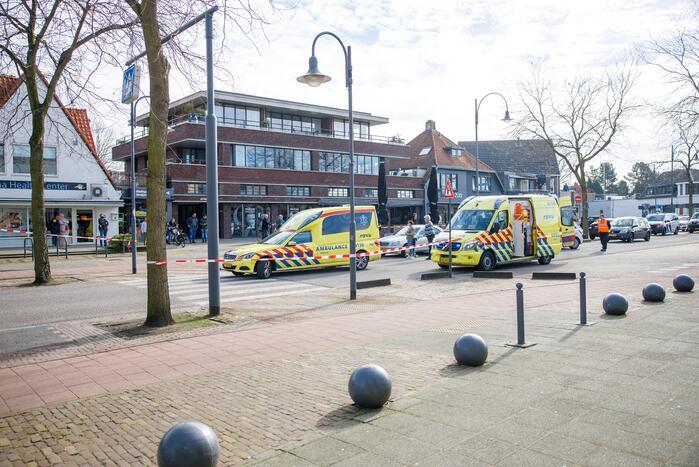 Vrouw ernstig gewond bij verkeersongeval