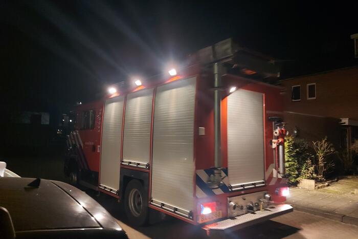 #Strijen Traumahelikopter voor incident in woning Bosweg Strijen.