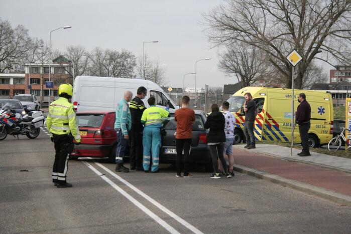 Drie auto's betrokken bij aanrijding