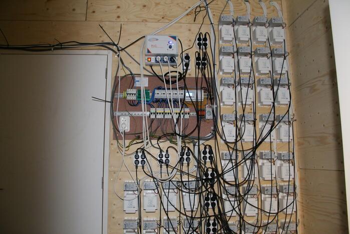Drugslab aangetroffen in woning