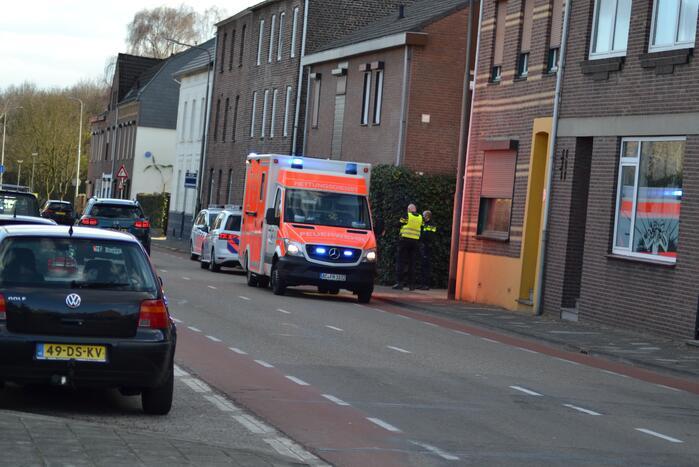 Duitse traumahelikopter landt voor incident in woning