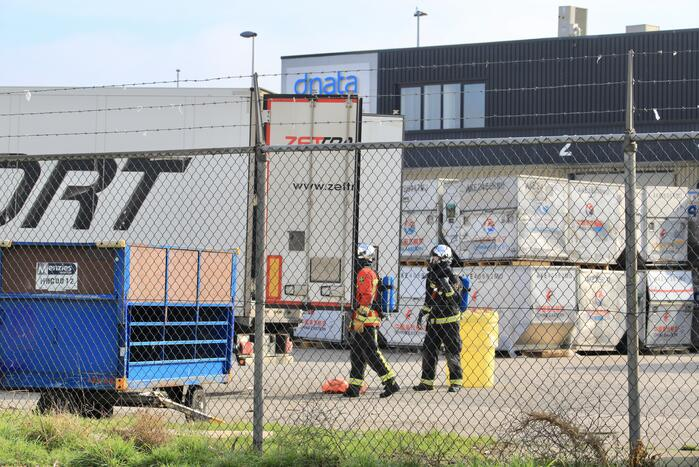 Incident in oplegger Dnata Cargo