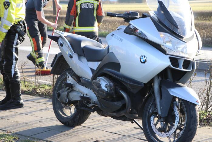 Gewonde na valpartij met motor