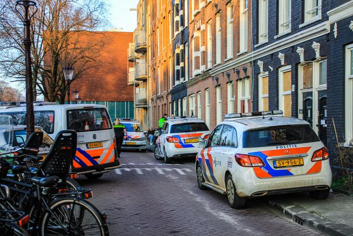 Veel politie op de been na woningoverval