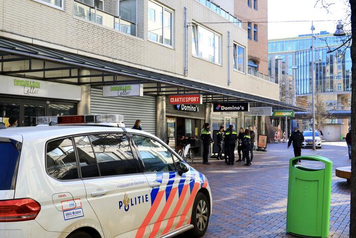 Politie doet onderzoek naar gewapende overval op Domino's Pizza
