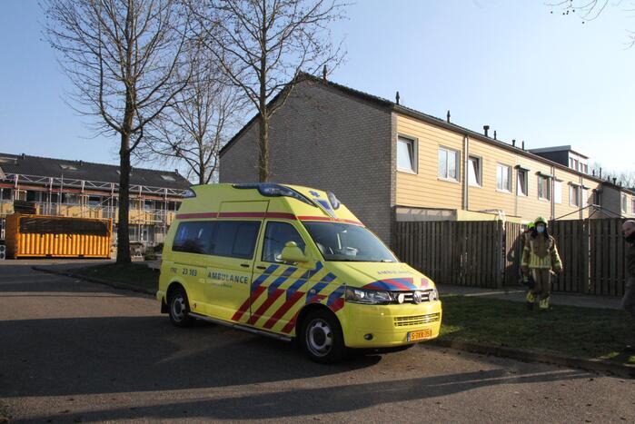 Hulpdiensten ingezet voor incident in tuin